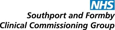 Southport Formby CCG logo Colour
